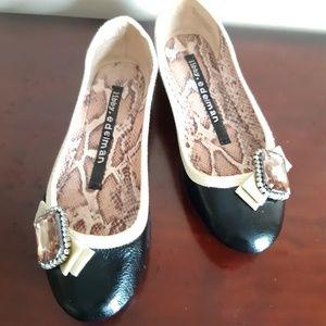 Women's Edelman black shoes size 8M